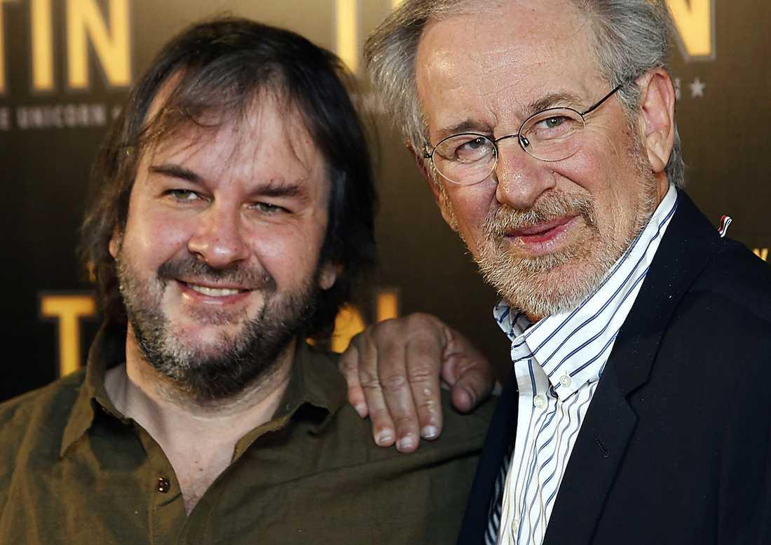 SUPERDUO Peter Jackson och Steven Spielberg är helt otekniska, men insåg att ny teknik skulle lyfta en Tintin-film.