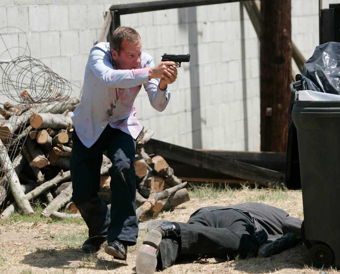 """Kiefer Sutherland som Jack Bauer i """"24""""."""