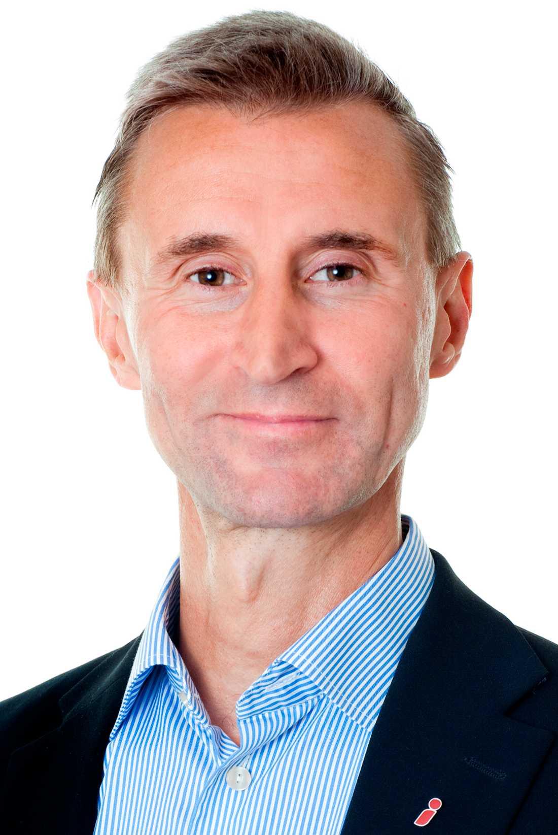 Kent Ehliasson, generaldirektör på SiS