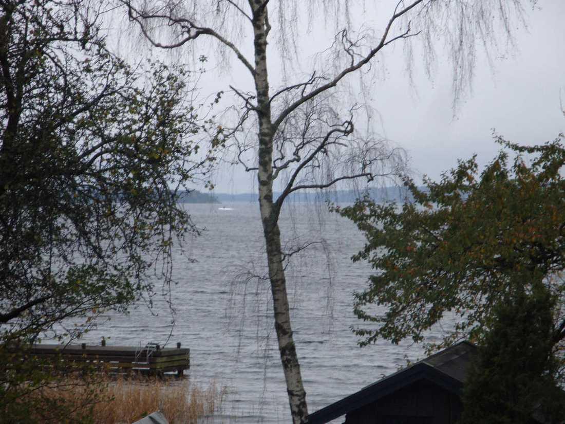 Bilden som utlöste ubåtsjakten i Stockholms skärgård 2014.