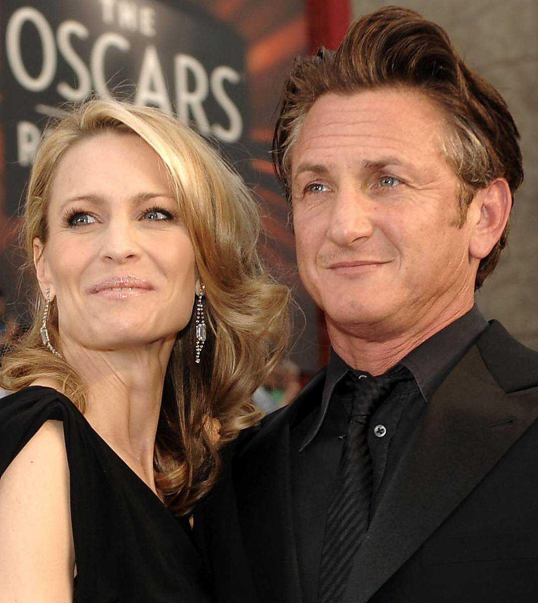 Sean Penn och Robin Wright.