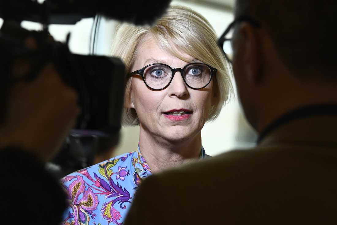 Moderaternas ekonomiske talesperson Elisabeth Svantesson (M). Arkivbild.