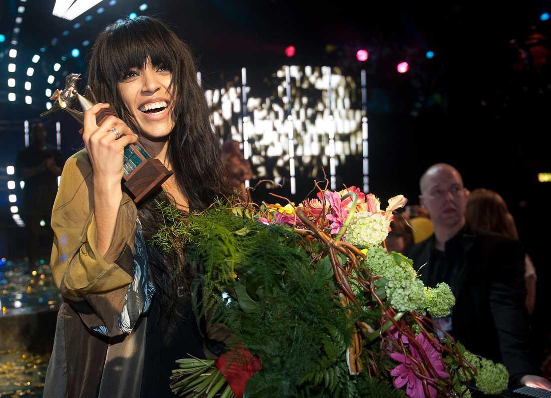 Över fyra miljoner såg Loreen vinna Melodifestivalen i lördags.