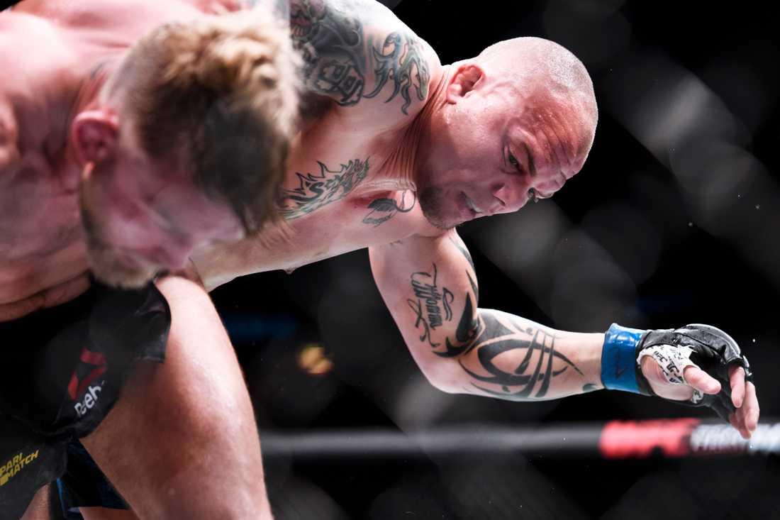 Anthony Smith (USA) möter Alexander Gustafsson (Sverige) vid den internationella MMA-galan, UFC Fight Night på Globen, i juni 2019.