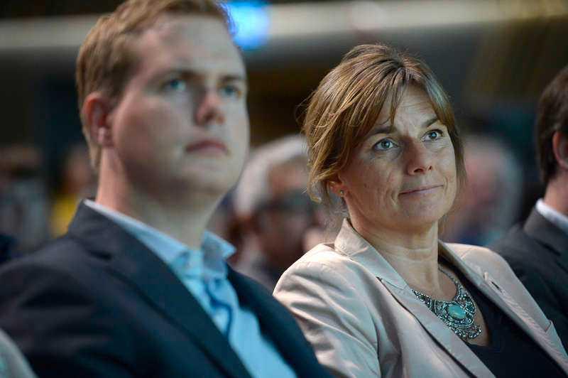 Gustaf Fridolin och Isabella Lövin.