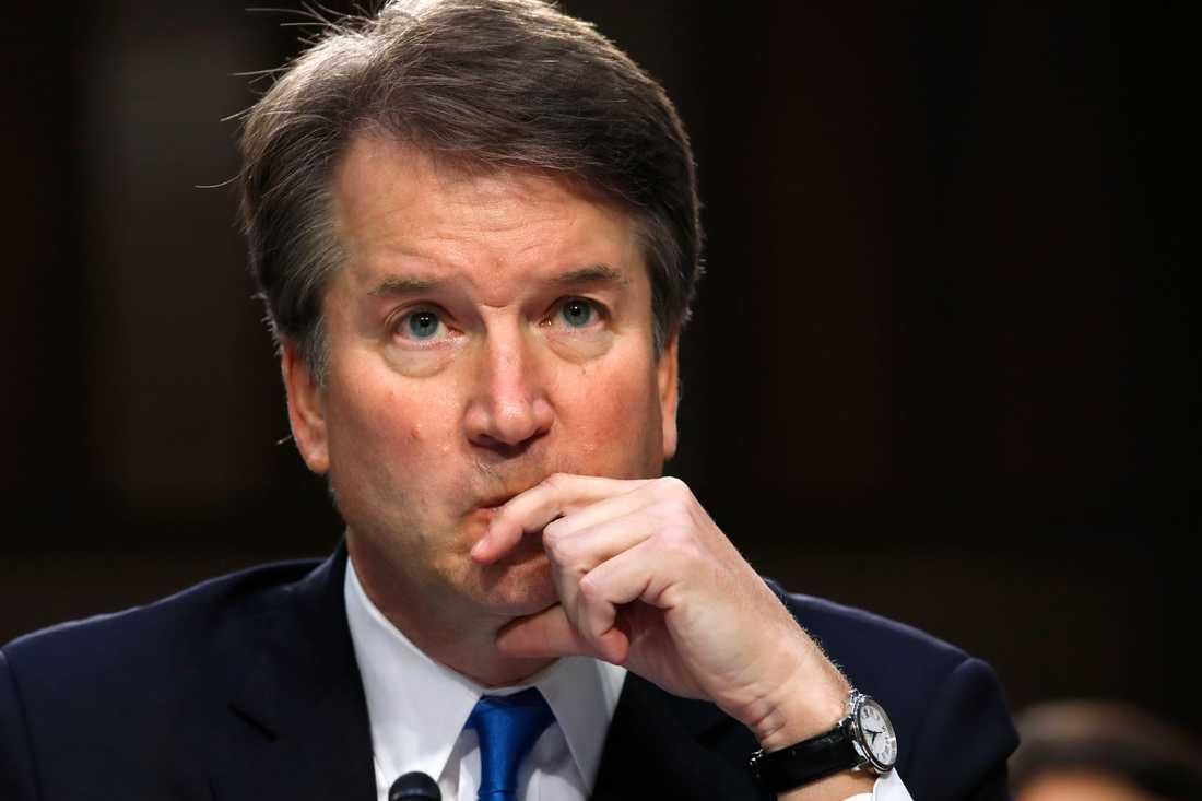 Brett Kavanaugh, som USA:s president Donald Trump nominerat till posten som domare i Högsta domstolen.