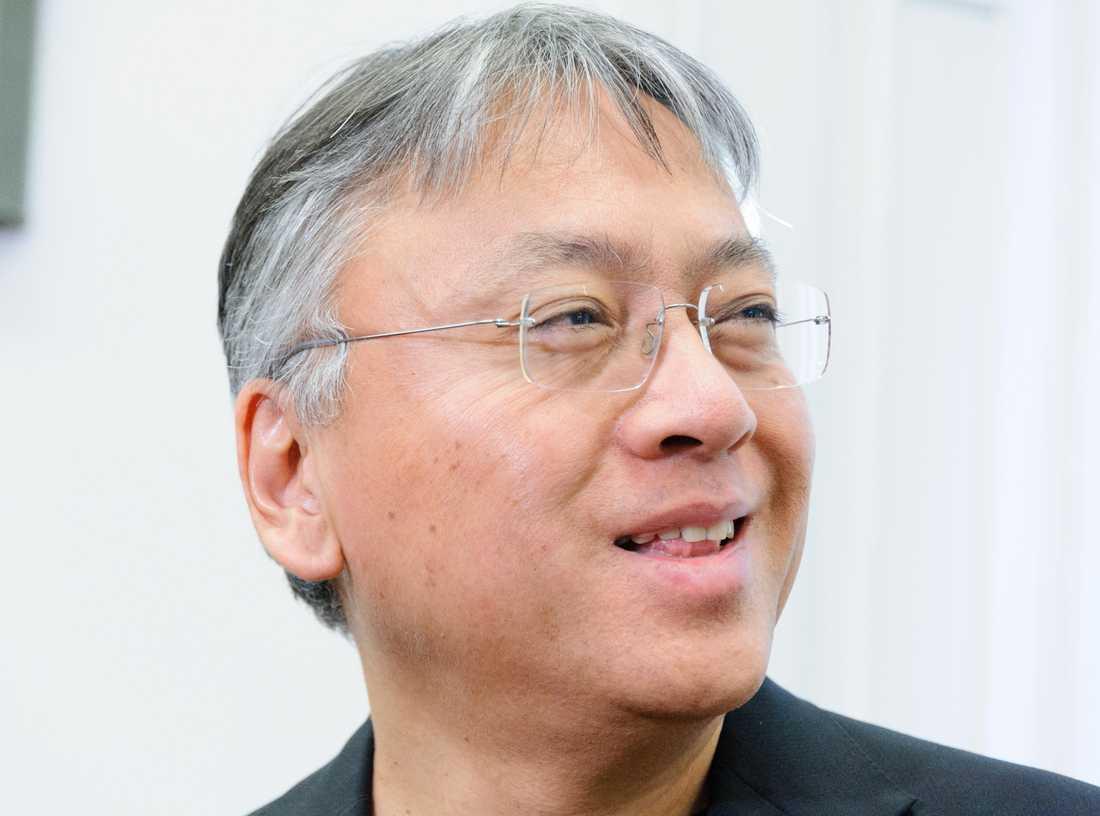 Författaren Kazuo Ishiguro trodde det var ett skämt när han hörde att han tilldelats Nobelpriset i litteratur.