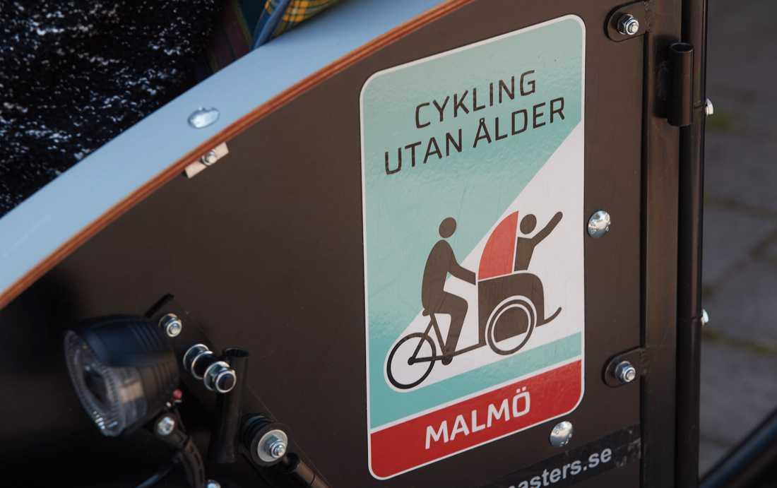Cykla utan ålder – en ideell förening där frivilliga cykelpiloter tillsammans med stadens äldreboenden ser till att äldre kommer ut på cykelturer i lådcykel.