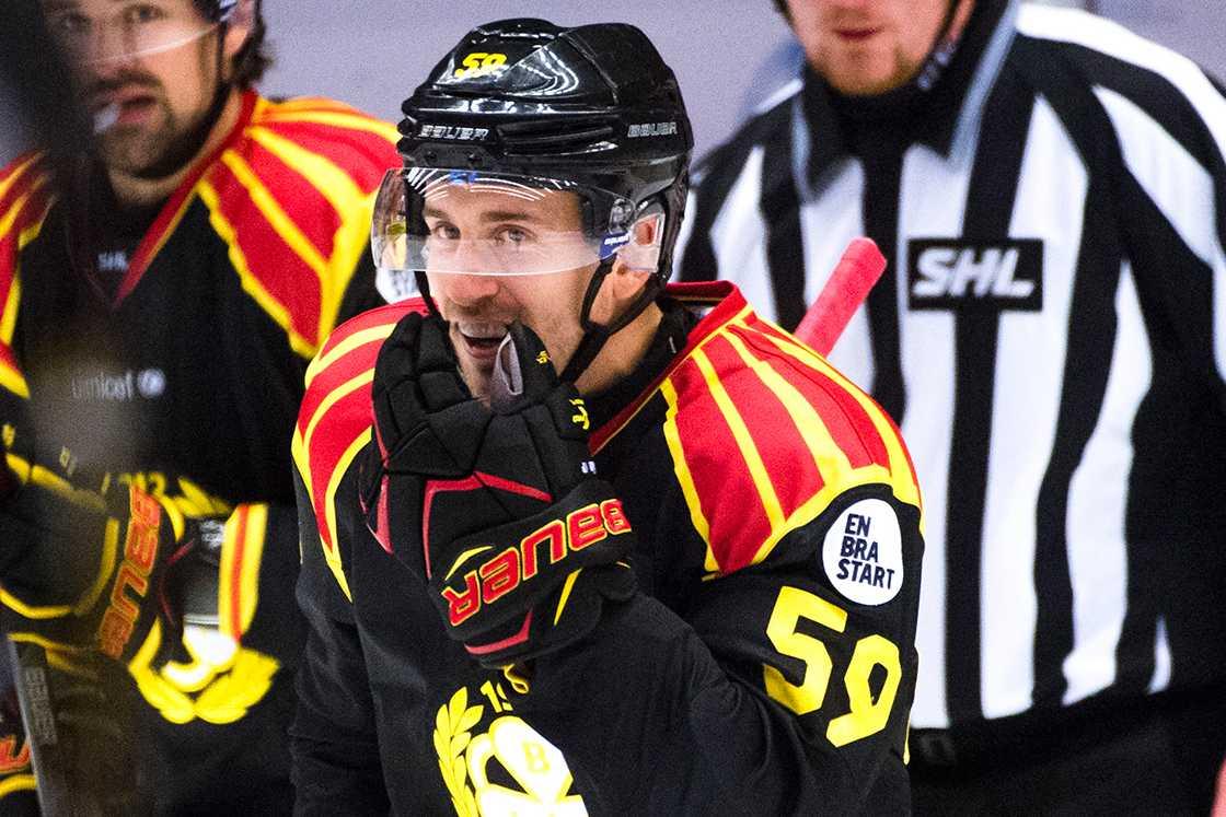 Den före detta Brynäs-spelaren Sebastian Enterfeldt satte sju rätt på V75 i lördags.