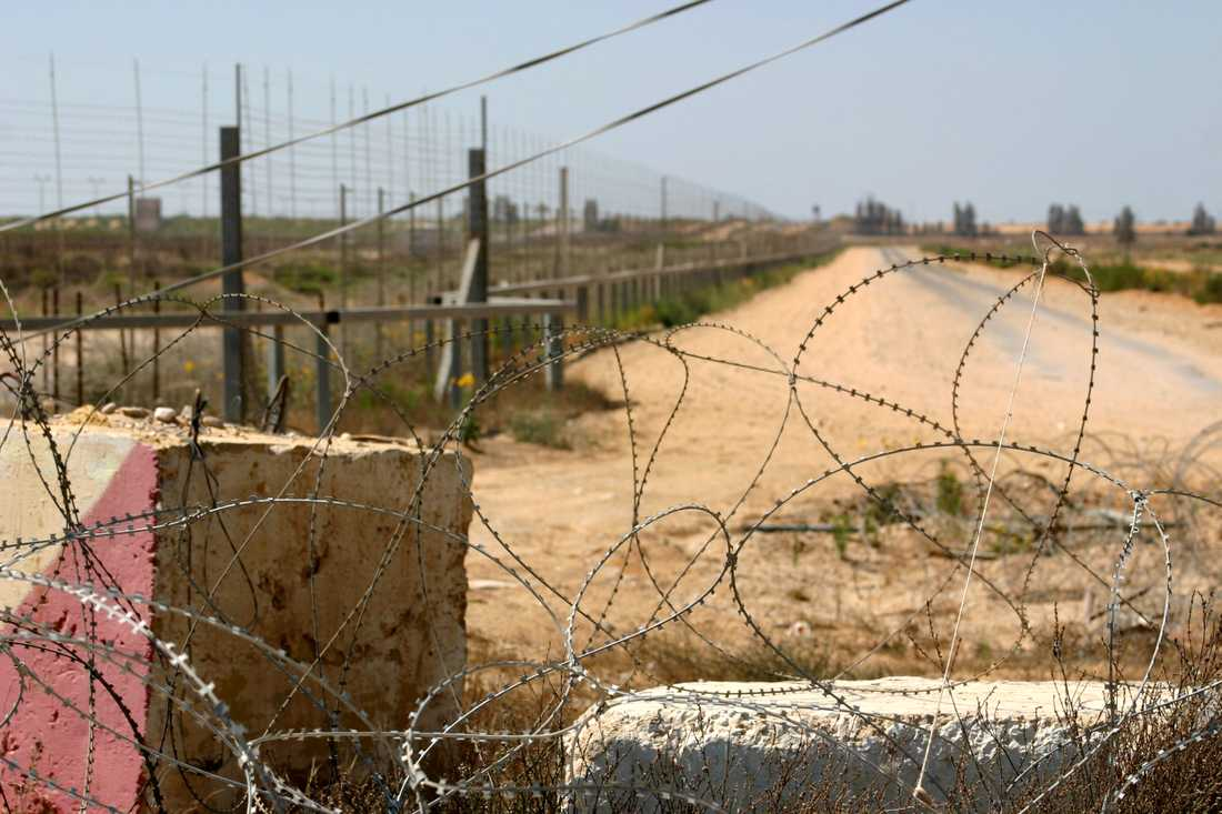 Arkivbild från Gazaremsan.