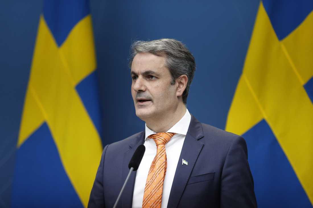 Näringsminister Ibrahim Baylan (S). Arkivbild.