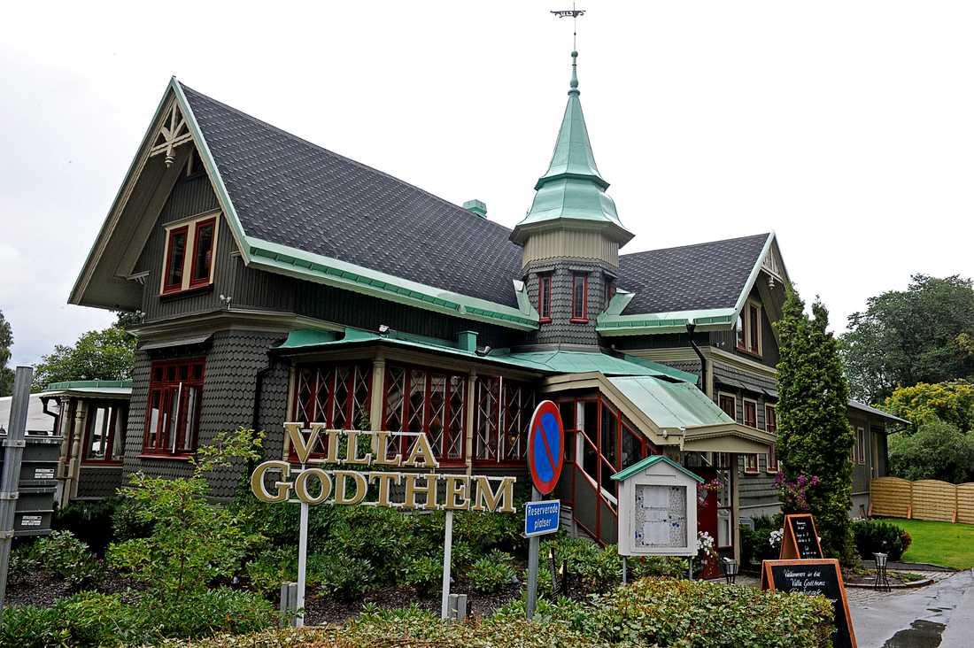 Villa Godthem på Djurgården.