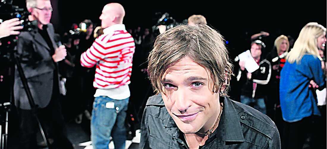 Han är redo för en ny Melodifestival, men 2008 är raderat för Andreas Johnson.