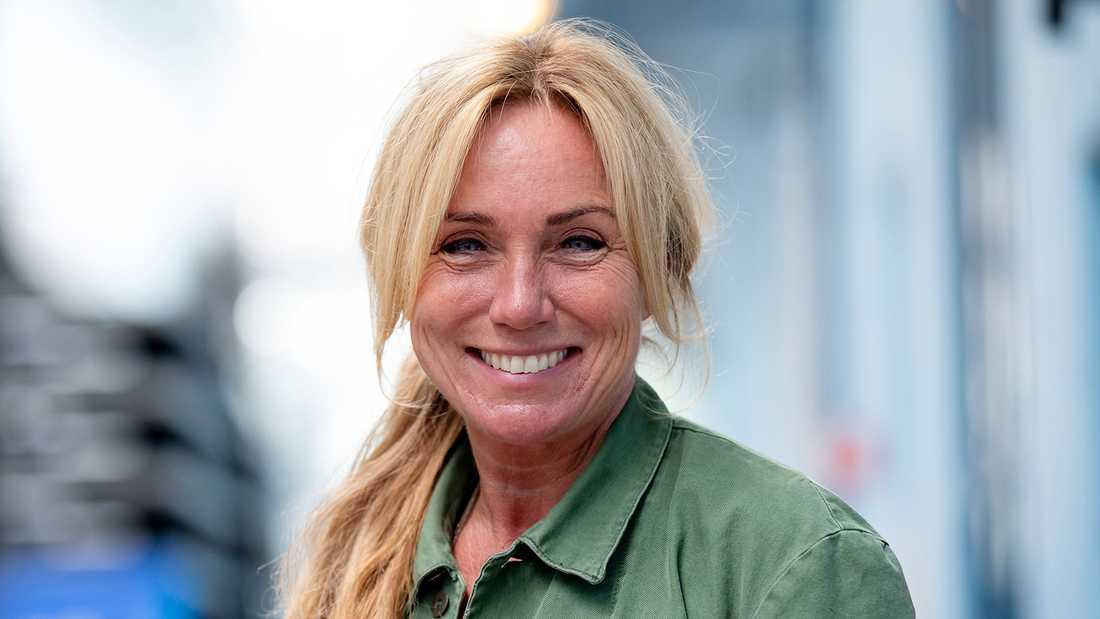 SVT-profilen Anne Lundberg.
