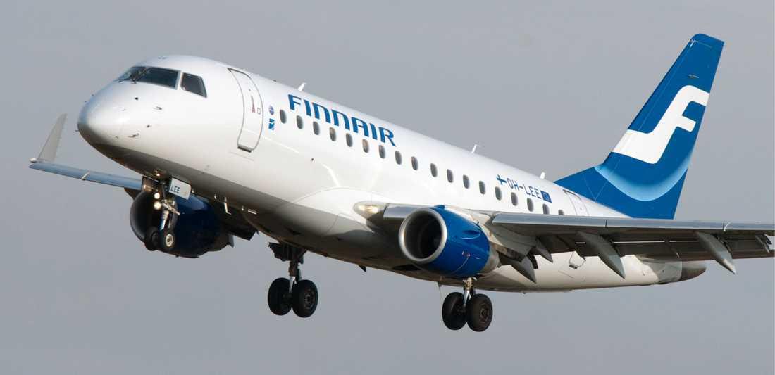 När flera fackförbund i Finland sympatistrejkade som ett led i postkonflikten drabbades Finnair hårt, och bland annat flygningarna till och från Sverige ställdes in. Arkivbild.