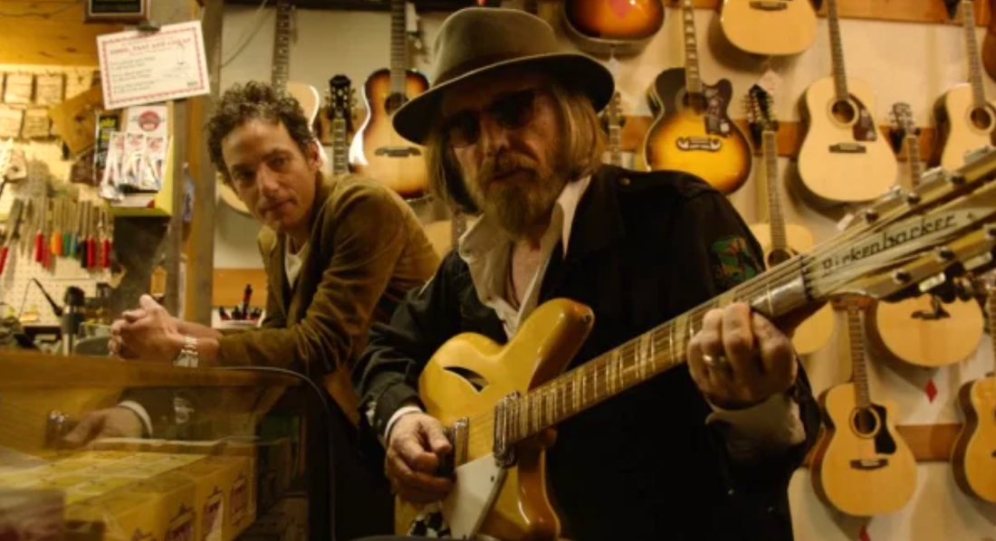 Jakob Dylan och Tom Petty.