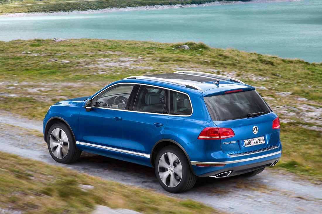 ... och Volkswagen Touareg.