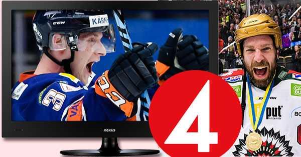 Vilka får lyfta Le Mat-pokalen i vår? TV4 sänder lördagsmatcher under hela SM-slutspelet i nya satsningen Hockeylördag.