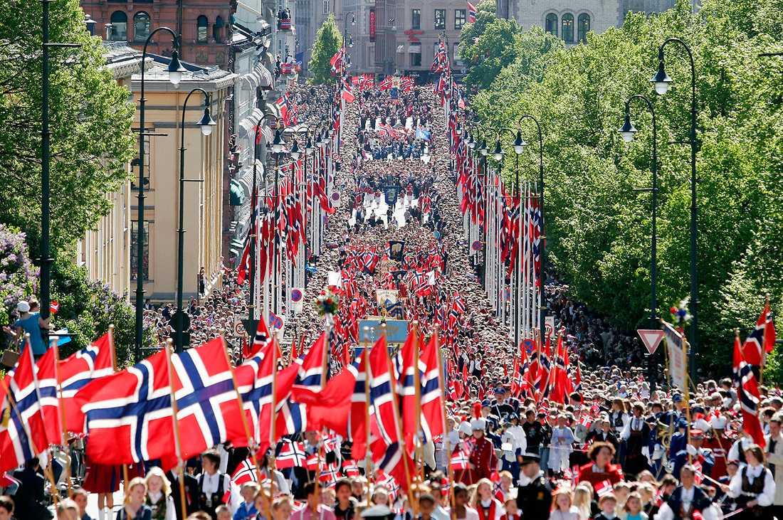 Nationalism i Norge är något fint, från höger till vänster förknippat med historisk stolthet och har absolut ingen lukt av extremhöger.