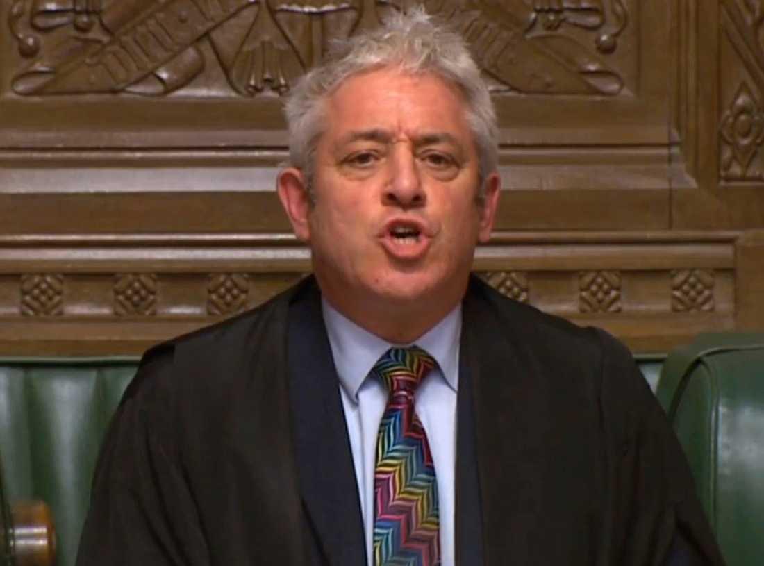 Brittiska underhusets talman John Bercow både älskas och hatas för sitt sätt att leda debatterna om brexit. Arkivfoto.
