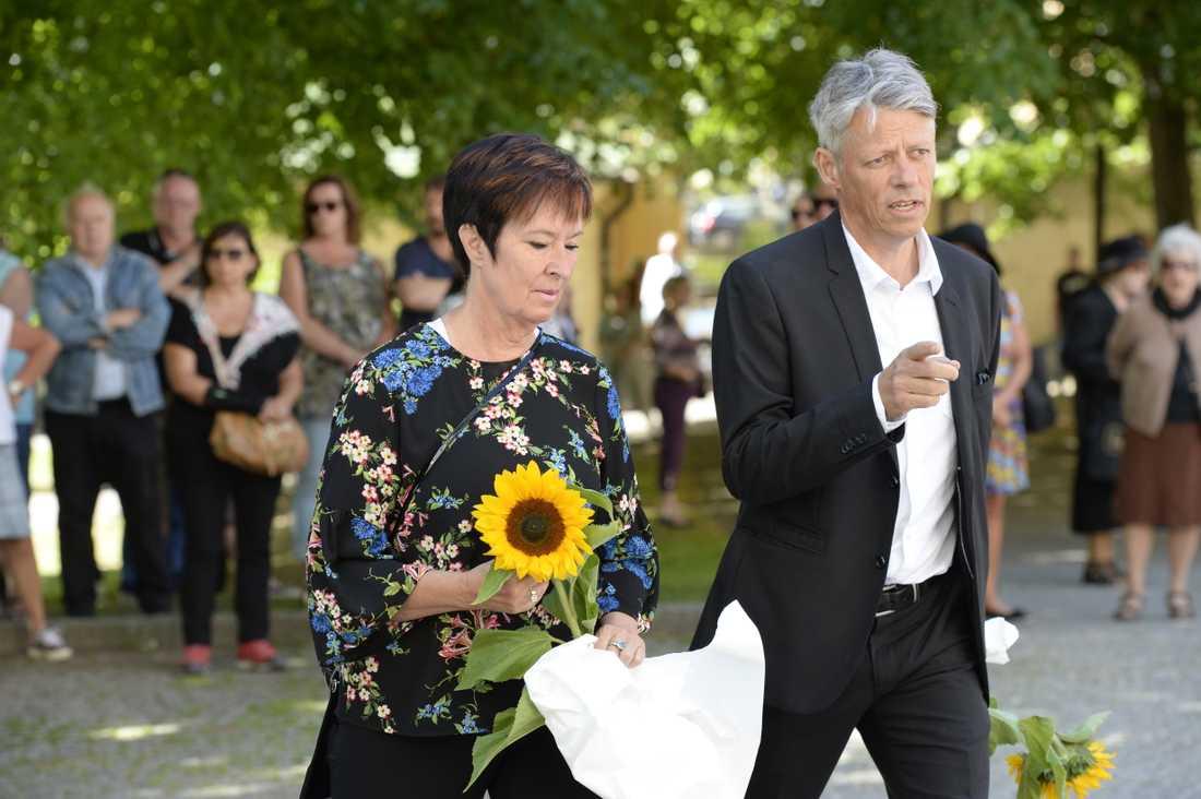 Mona Sahlin och Jens Orback.
