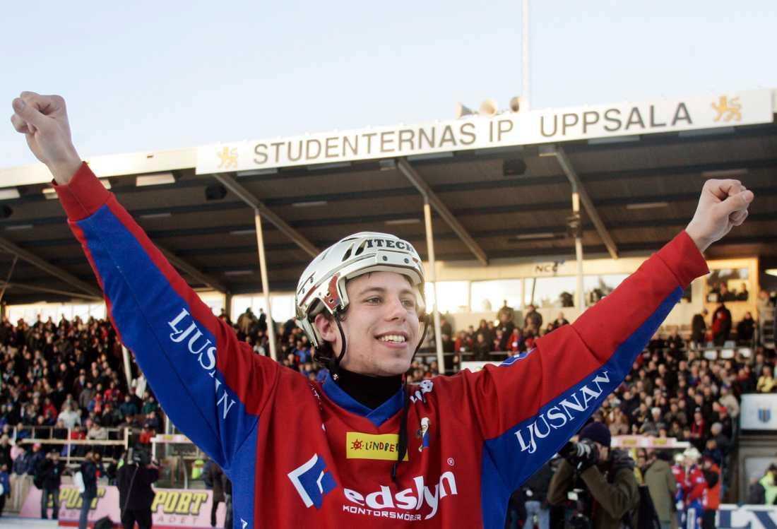 Redan 2005 blev Per Hellmyrs svensk mästare med Edsbyn.