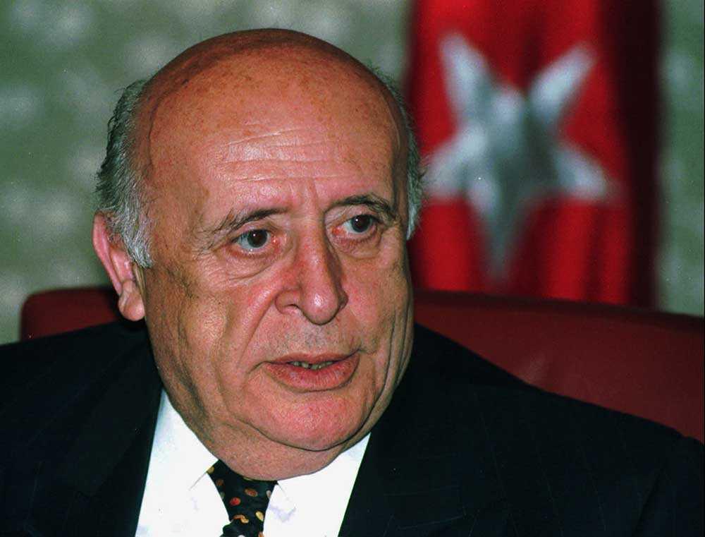 Süleyman Demirel.
