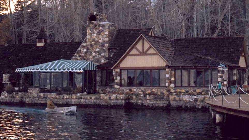 Huset vid Lake Tahoe.