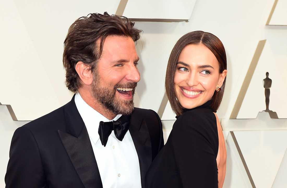 Bradley Cooper och Irina Shayk på Oscarsgalan i januari.