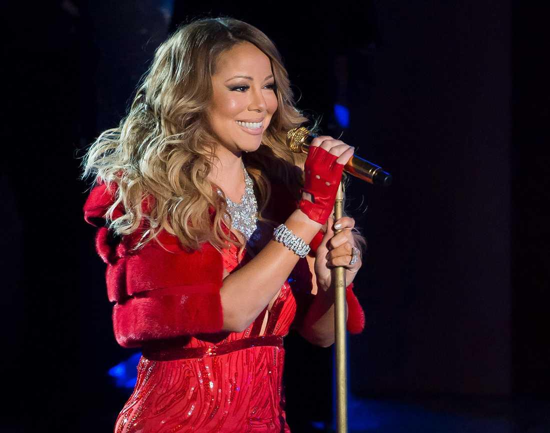 Mariah Carey besöker Göteborg för en julkonsert under måndagen. Arkivbild.