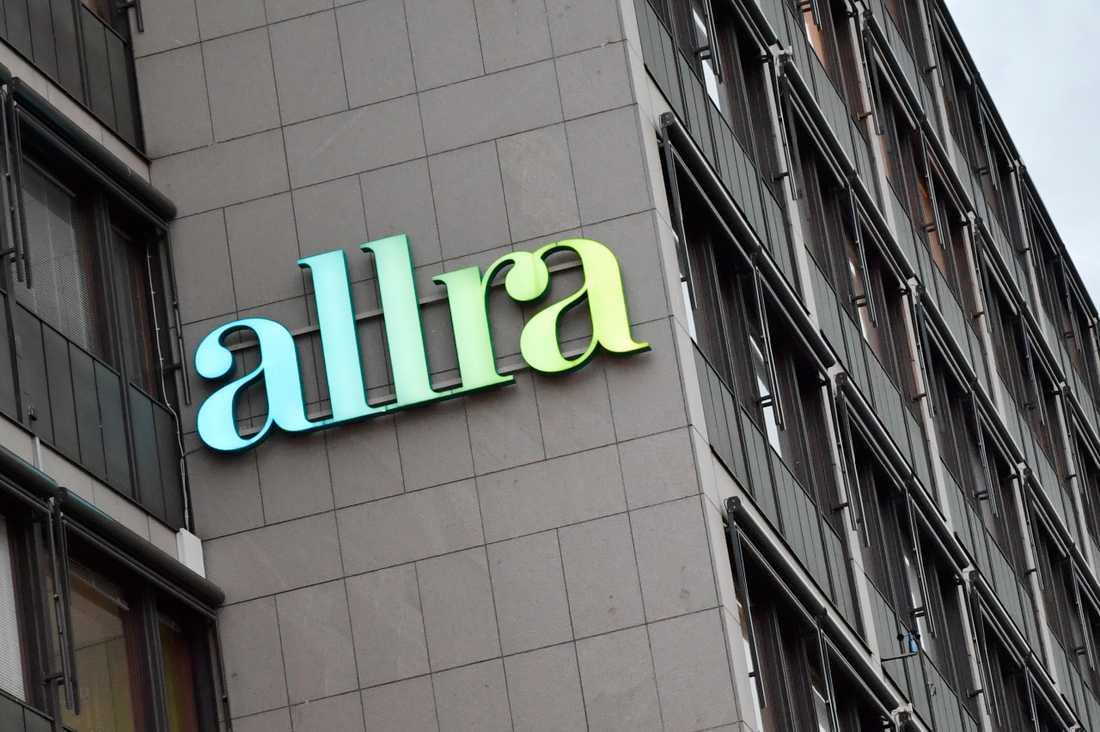 Allras huvudkontor på Sveavägen i Stockholm. Arkivbild.