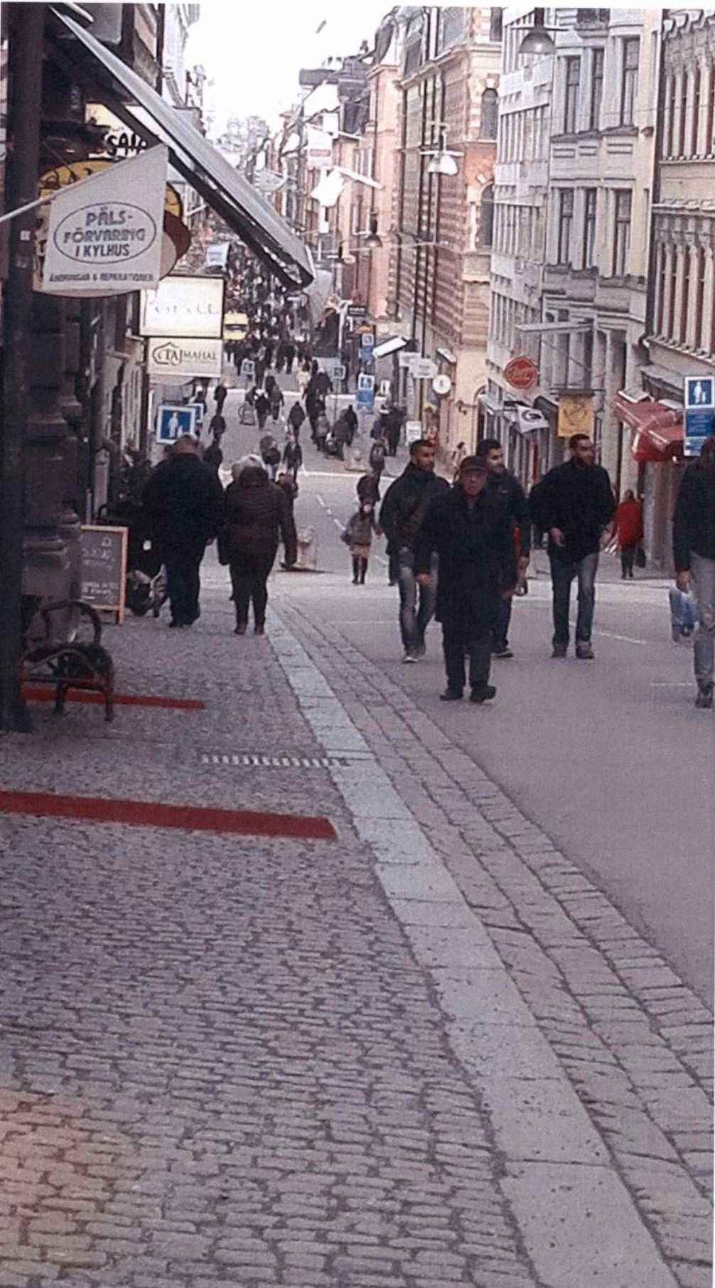 Akilovs bilder från Drottninggatan, Stockholm.