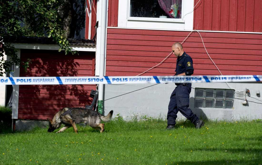 Kvinnan hittades död i början av augusti.