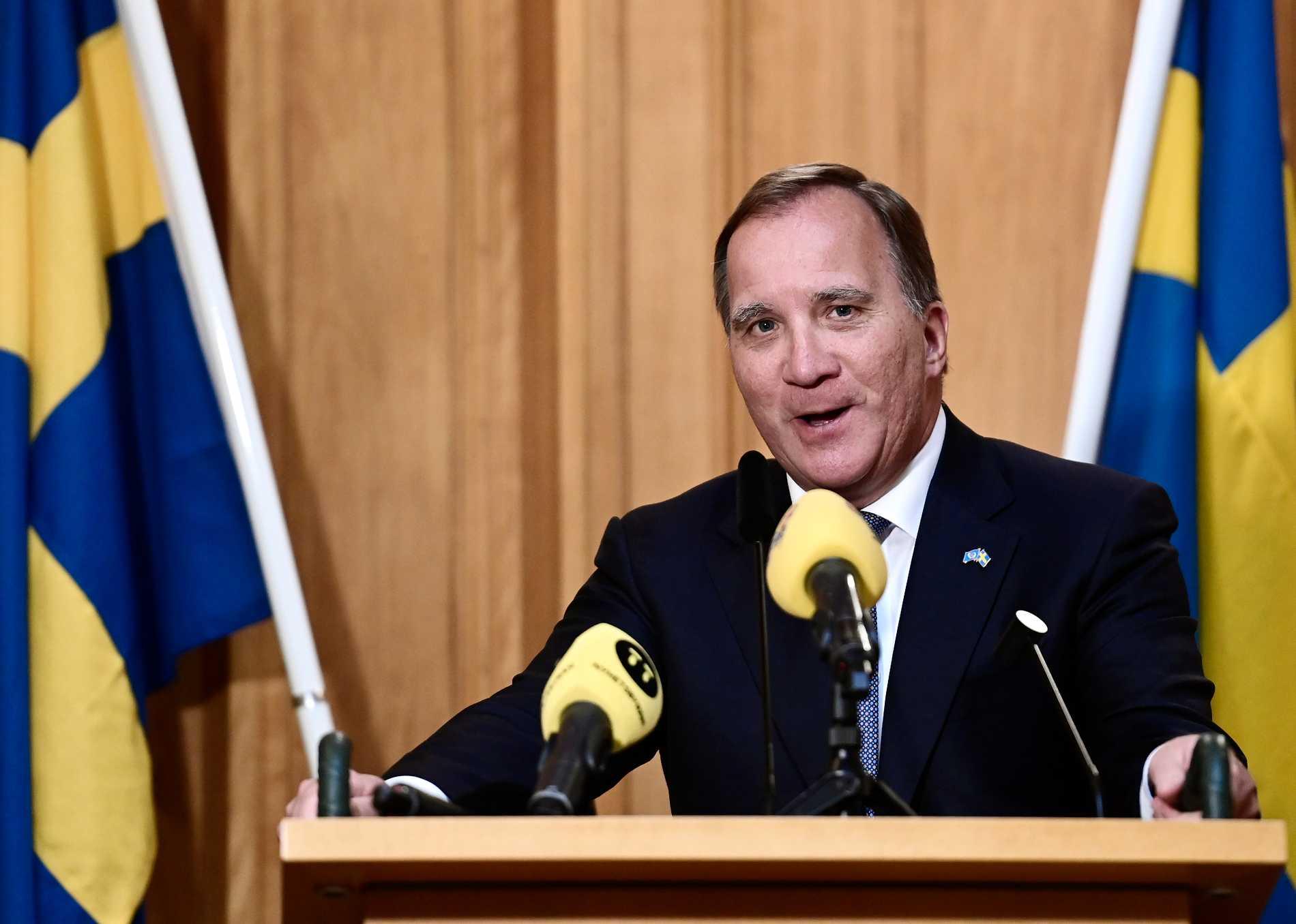 Stefan Löfven är statsminister igen.