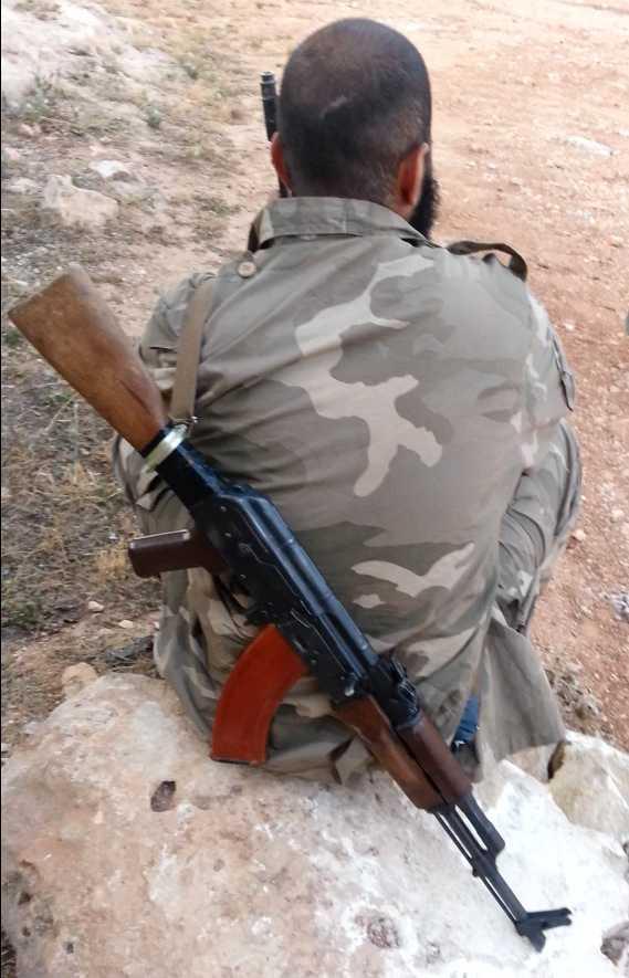 Abu Zacharias kom just tillbaka till Syrien efter att ha varit hemma i Sverige under sommaren och hösten.