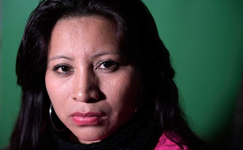 Teodora del Carmen Vásquez får Per Anger-priset.
