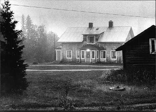Prästgården i Borgvattnet, år 1973 Foto: ÖIWIND BERGGREN