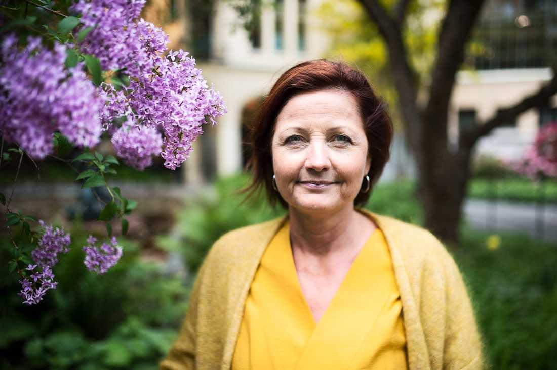 Marie Nilsson, IF Metalls ordförande.