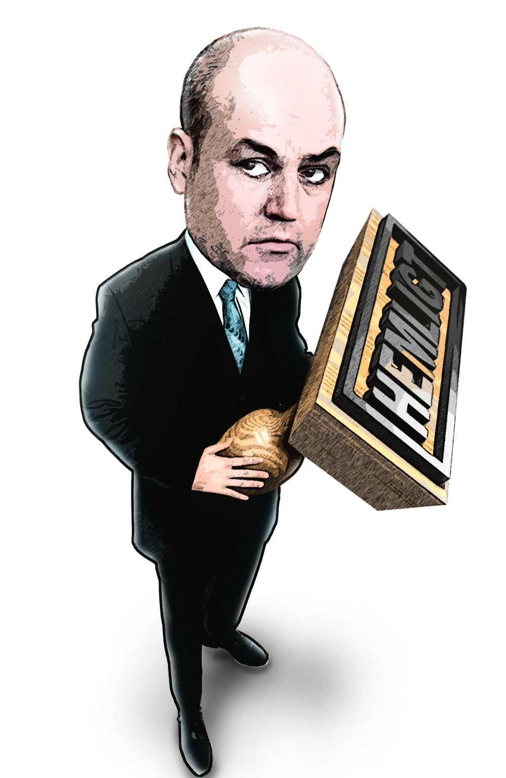 Reinfeldt med stämpeln i högsta hugg.