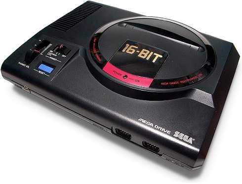 Segas succékonsol Mega Drive släpptes i Sverige 1990.