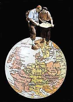 """""""Vilse i Europa"""" av Edvard Derkert"""