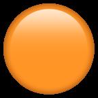 Orange cirkel.