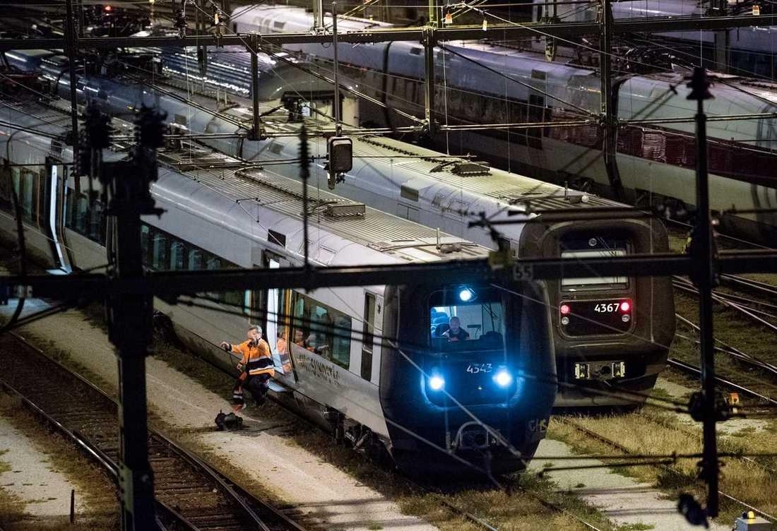 Öresundstågen rullar igen mellan Malmö och Lund efter torsdagens olycka. Bilden är tagen vid ett tidigare tillfälle.