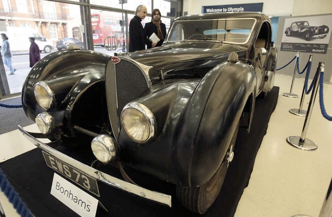 Bugattin kan gå under klubban för 70 miljoner.