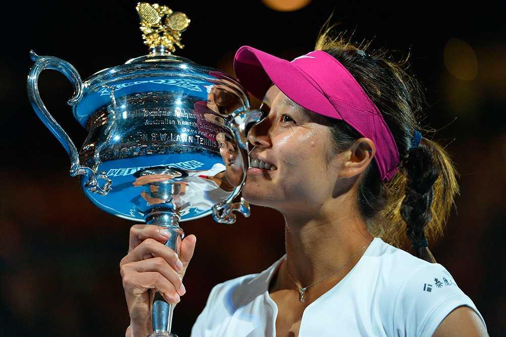 Li Na vann Australian Open i januari.