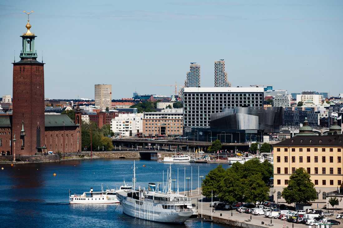 Stockholm är den region som bidrar mest till utjämningssystemet. Arkivbild.