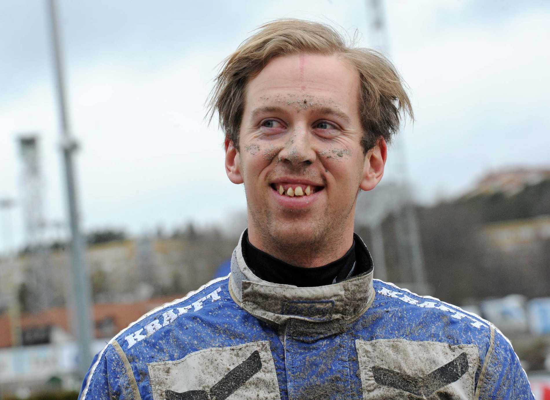 Kim Eriksson kör V75-debutanten i morgon.
