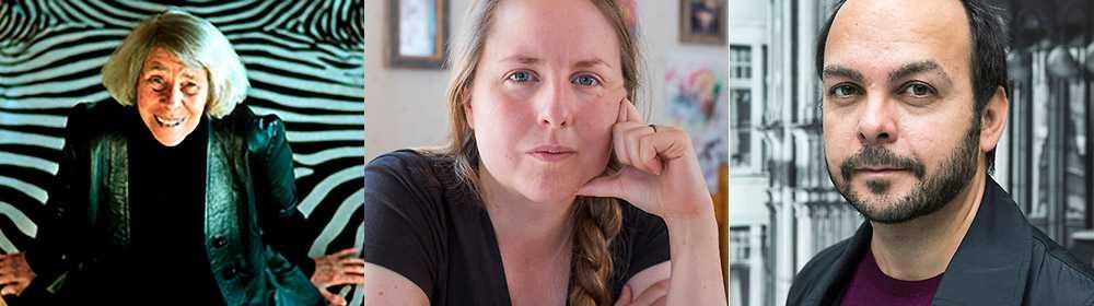 Tove Jansson, Stina Stoor och Alejandro Leiva Wenger medverkar i antologin.
