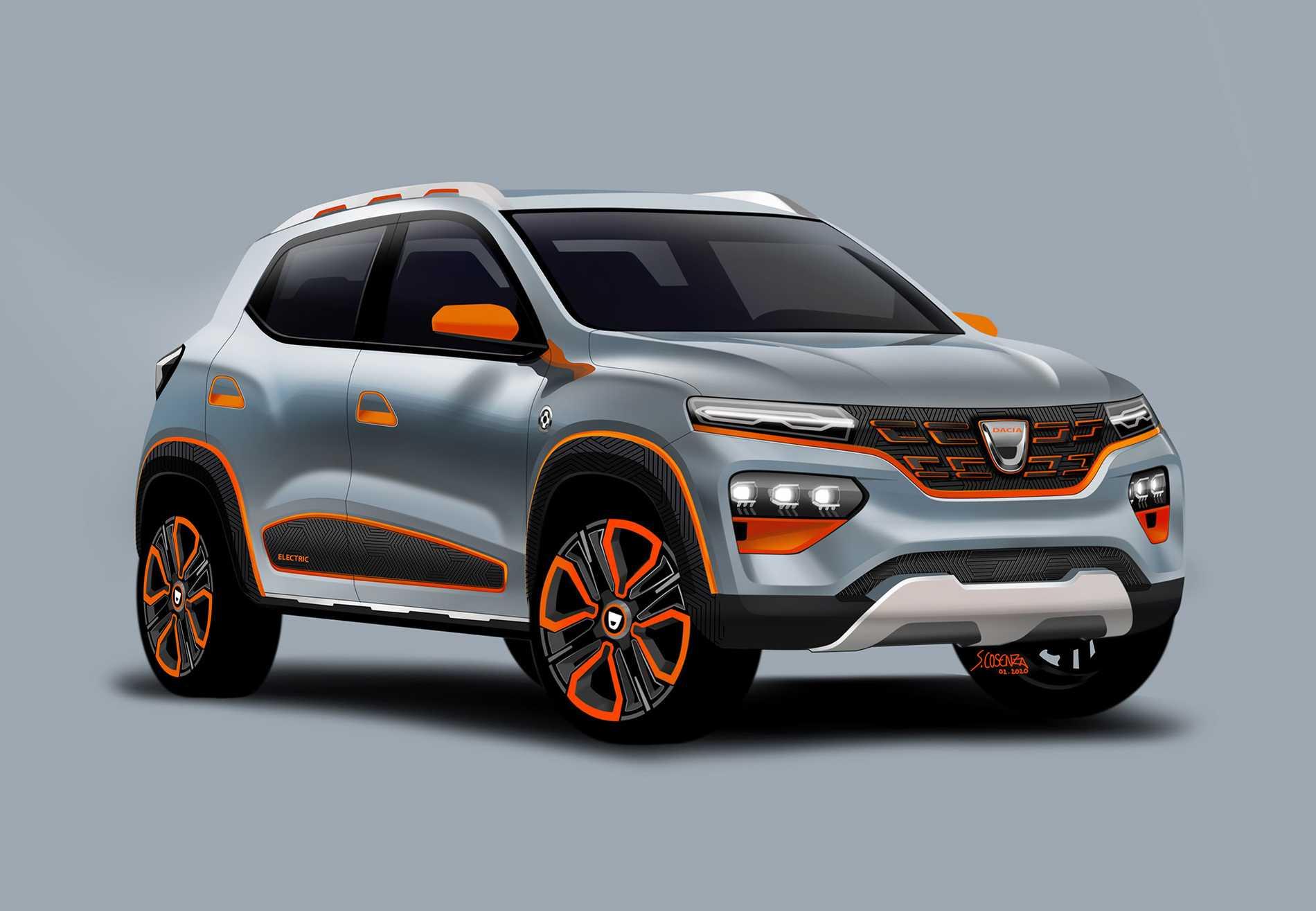Dacia Spring Electric.