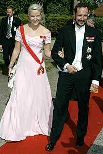 Kronprins Haakon och Mette Marit kommer med all sannolikhet att dyka upp.